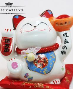 Mèo May Mắn Tặng Tân Gia - Kim Ngọc An Khang