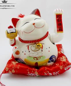 Mèo Thần Tài Giơ Tay Trái - Vạn Sự Như Ý