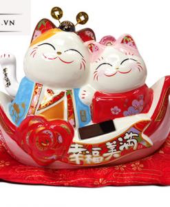Mèo May Mắn Nhật Bản - Trăm Năm Hạnh Phúc