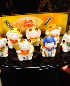 Mèo Thần Tài Neko Yakushigama - Bộ Thất Phúc Thần