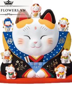 Mèo Thần Tài Yakushigama - Phúc Thần Fukushe