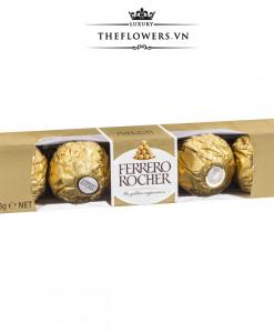 Socola Ferrero Rocher 5 Viên - 62.5g
