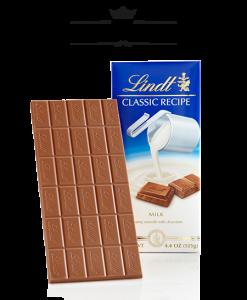 Socola Lindt Classic Recipe Milk