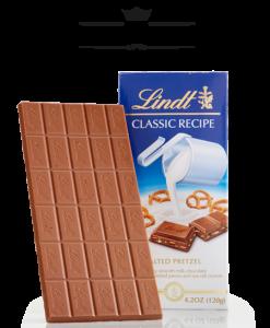 Socola Lindt Classic Recipe Pretzel