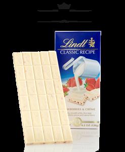 Socola Lindt Classic Recipe Strawberries and Creme