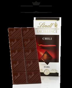 Socola Lindt Excellence Chili – Dark