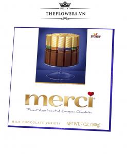 Socola Merci Assorted Milk Chocolates 200g