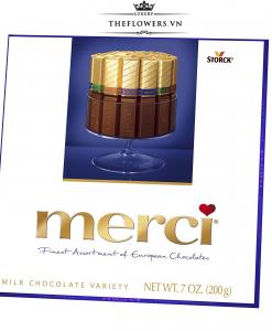 Socola Merci Assorted Milk Chocolates - 200g