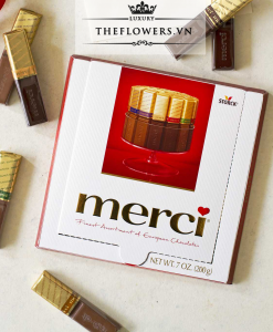 Socola Merci European Chocolates 200g