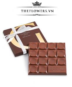 Socola Godiva Milk Chocolate 42% Cacao Ruy Băng Trắng