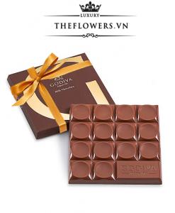 Socola Godiva Milk Chocolate 42% Cacao Ruy Băng Vàng