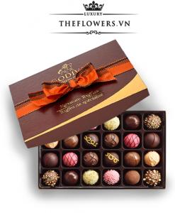 Socola Godiva Signature Chocolate Truffles hộp 24 viên