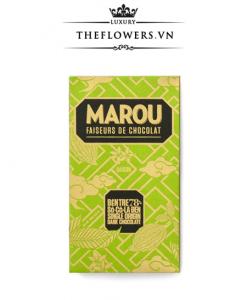 Socola Marou Bến Tre 78% Sôcôla đen