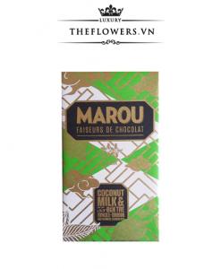 Socola Marou Coconut Milk 55% Bến Tre