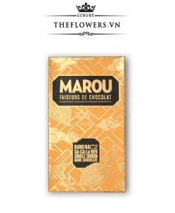 Socola Marou Đồng Nai 72% Sôcôla đen