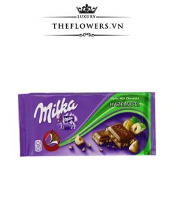 Socola Milka Alpine Milk Chocolate With Hazelnut
