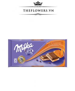 Socola Milka Caramel Creme