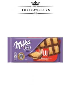 Socola Milka Lu Biscuit