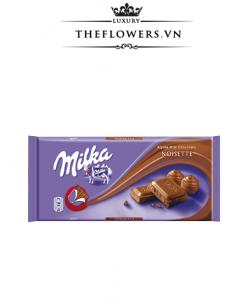 Socola Milka Noisette Chocolate