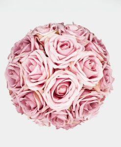 Hoa hồng lụa màu hồng phấn