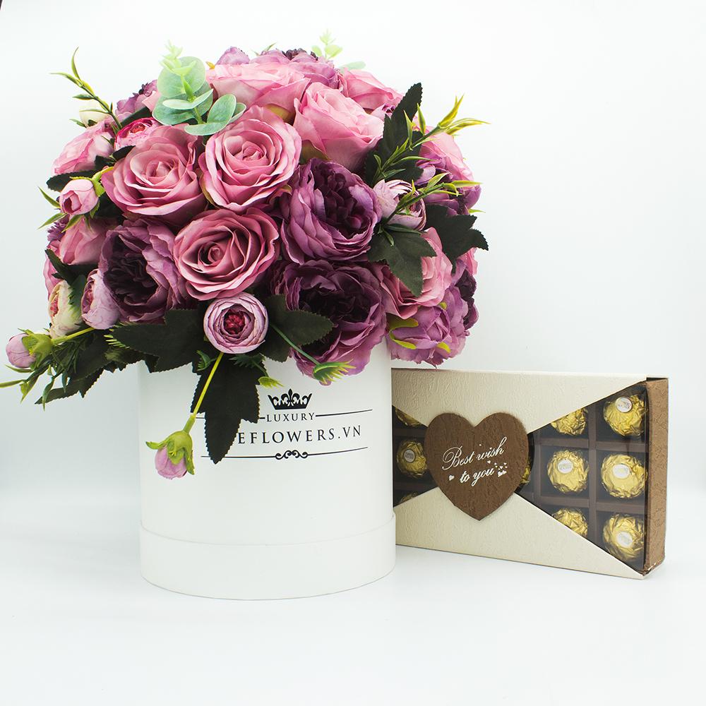 hộp socola Valentine