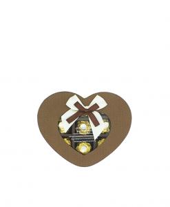 Socola Valentine Ferrero Hộp Nâu 9 Viên - Quà Tặng Valentine